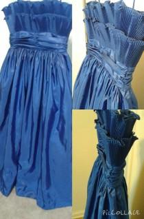 Royal Blue size 16 $45 #72