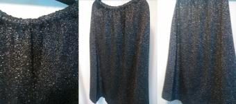 Heavy Gliiter Skirt Size (M/L) $12.50