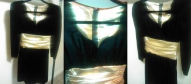Black N Gold Size (4) $25.00 #214